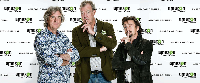 Amazon Prime strikt Jeremy, Richard & James