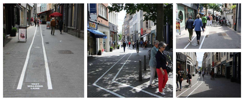 'Text Walking Lane' doet nu ook zijn intrede in Antwerpen