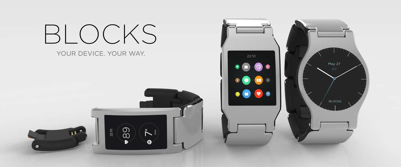 Blocks, de eerste modulaire smartwatch