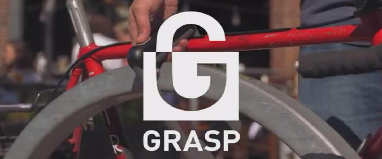 Grasp: Fietsslot met vingerafdrukscanner