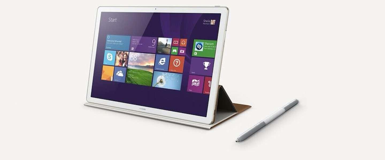 Huawei lanceert de Matebook: stijlvolle en superdunne twee-in-één laptop
