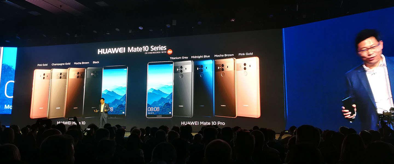 Dit is de Huawei Mate 10 Pro