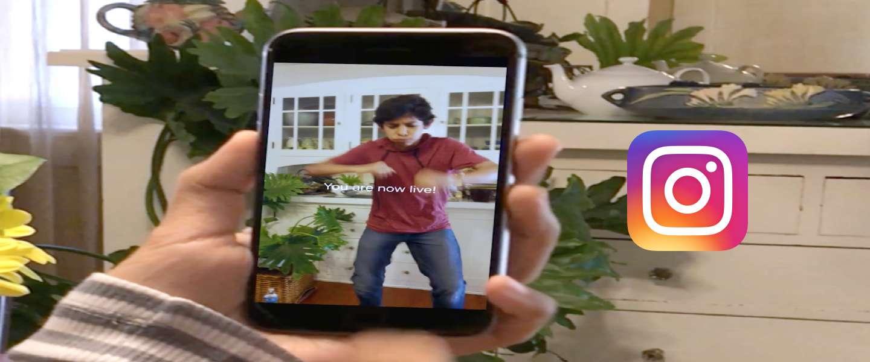 Instagram introduceert live videostreams
