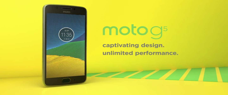 De budgettoppers van Lenovo: Moto G5 en Moto G5 Plus