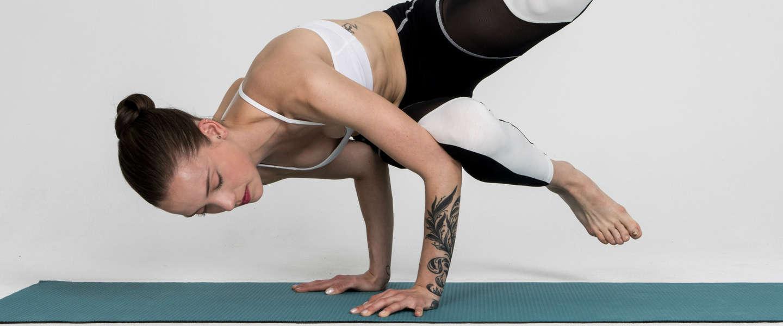 Wearable tech voor yoga