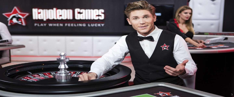 Napoleon Games lanceert het eerste Branded Live Casino
