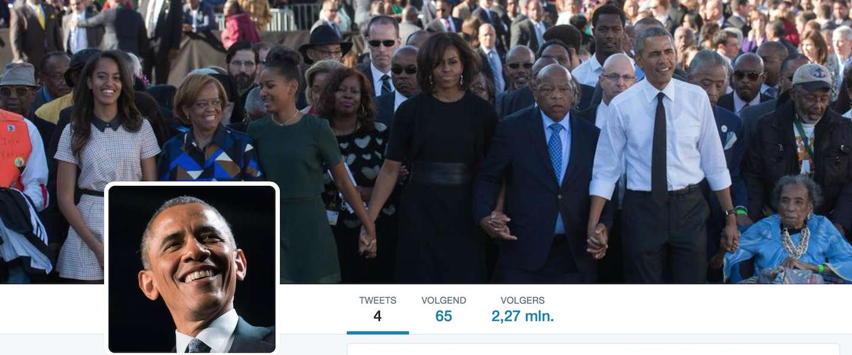 Obama breekt Twitter-record