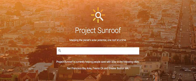 Google's Project Sunroof vertelt jou waar je zonnepanelen moet installeren