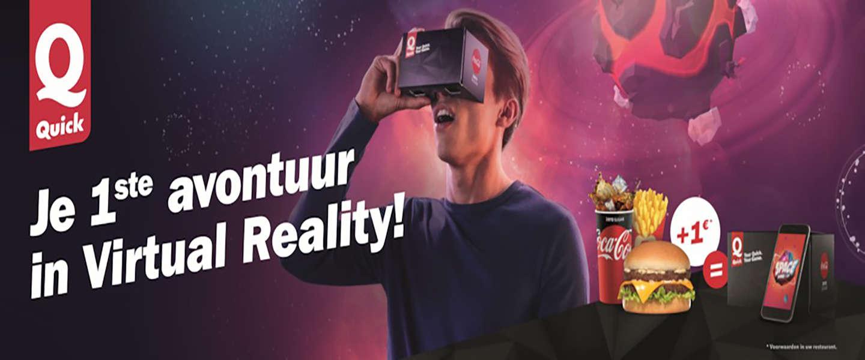 Quick maakt virtual reality toegankelijk voor alle Belgen