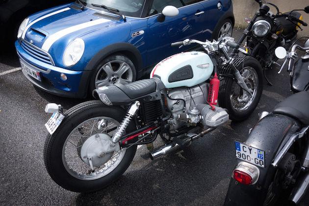 Een echte BMW op de parking
