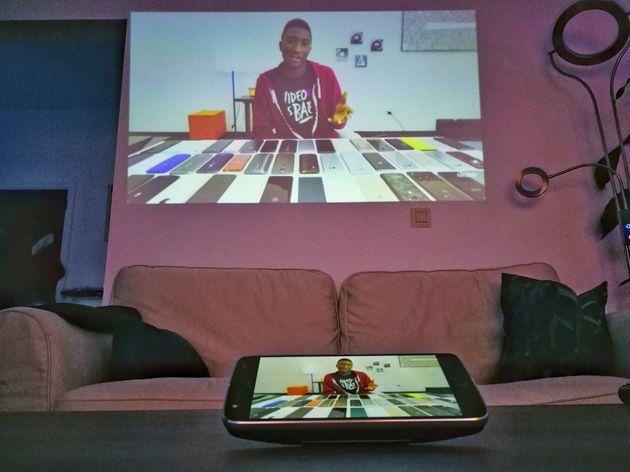 Moto projector