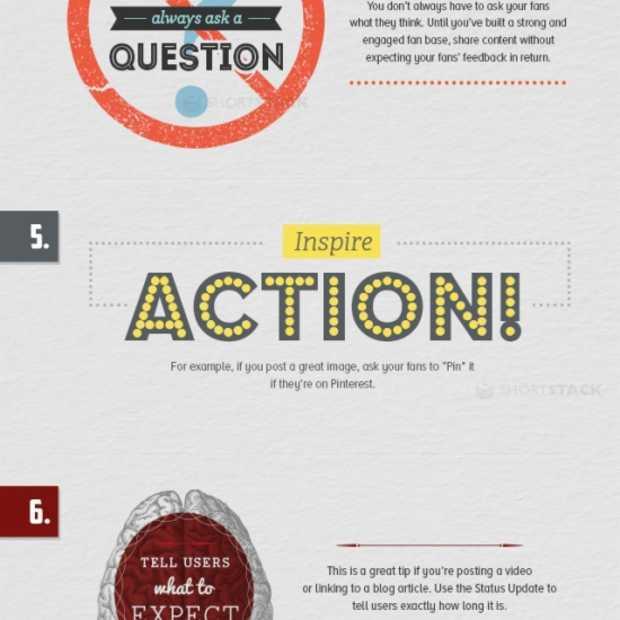 10 tips voor betere statusupdates op Facebook [infographic]