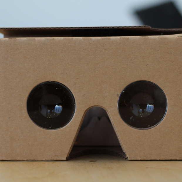 VR Cardboard headsets eindelijk in directe verkoop