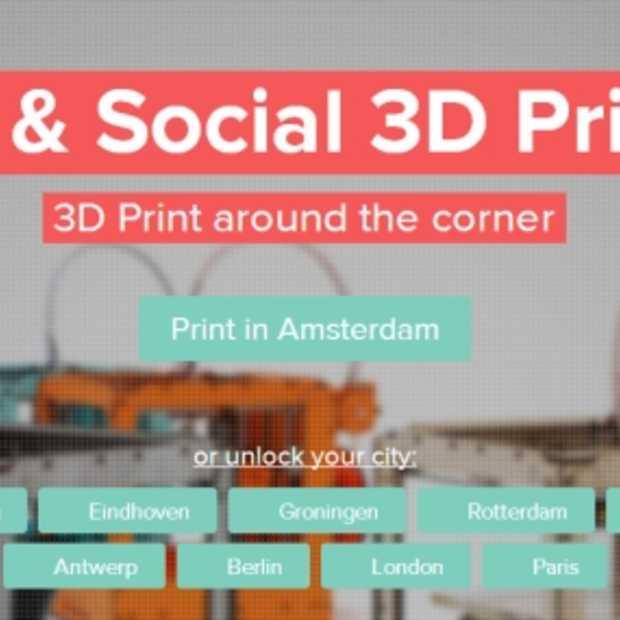 3D Hubs lanceert grootste 3D-printwerk in Antwerpen: print je 3D-werk 'om de hoek'