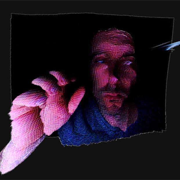 3D wireframes van jezelf dankzij je webcam