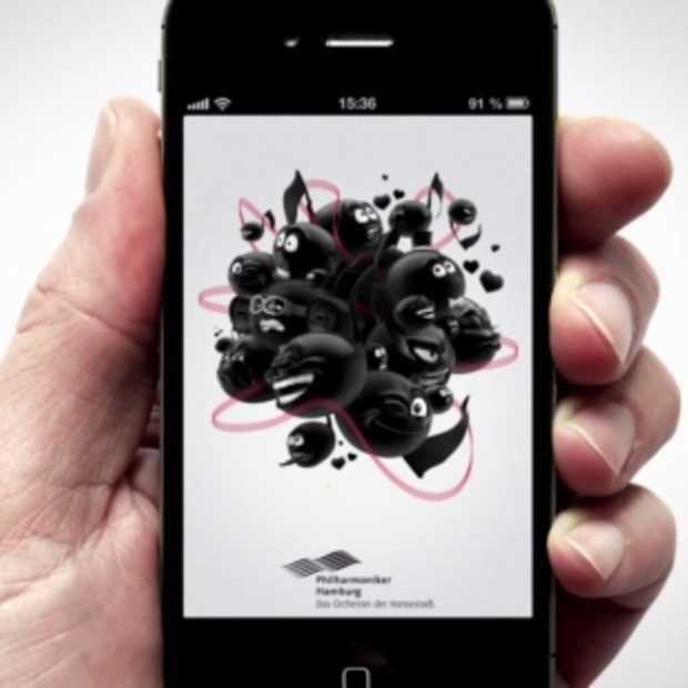Acousticons: text messages met sublieme klassieke muzikale begeleiding