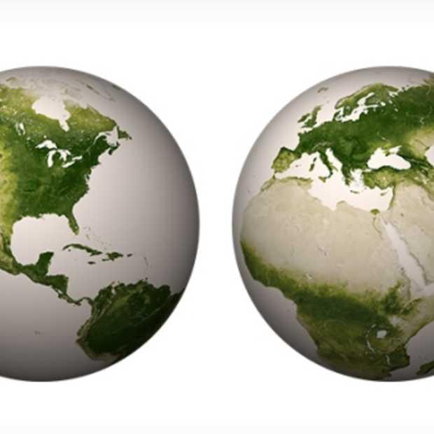 Adembenemende nieuwe satellietbeelden van NASA & NOAA toont de vegetatie op onze planeet