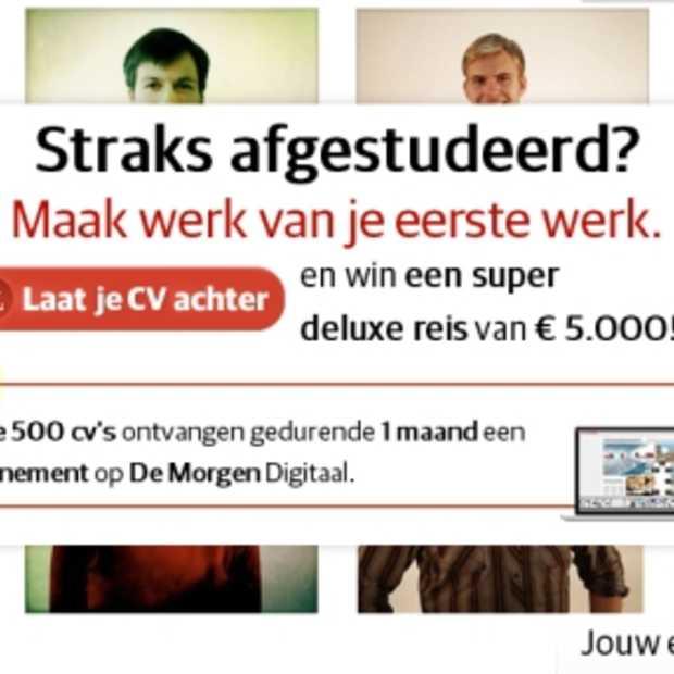 Afgestudeerd/young potential? Drop je CV op vacature.com en win misschien reis van € 5.000