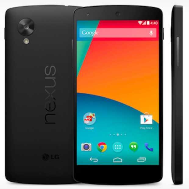 Alles over de nieuwe Google Nexus 5