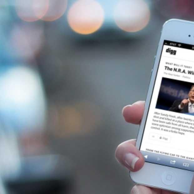Alternatief voor Google Reader: Digg Reader vanaf 26 juni beschikbaar