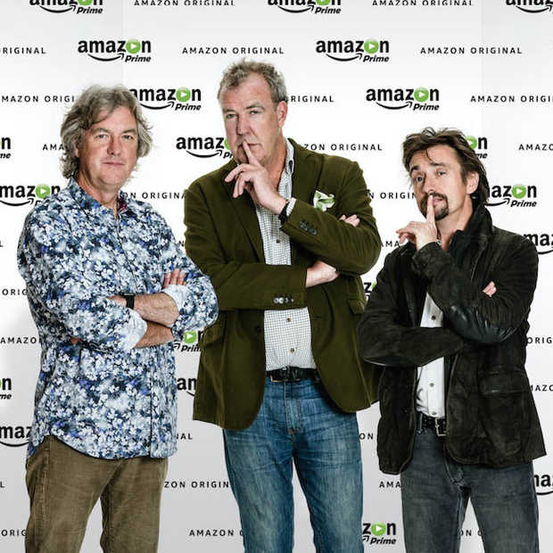 Amazon Prime strikt Jeremy, Richard & James