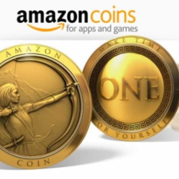 Amazon lanceert nu ook zelf zijn virtuele munten: Amazon Coins