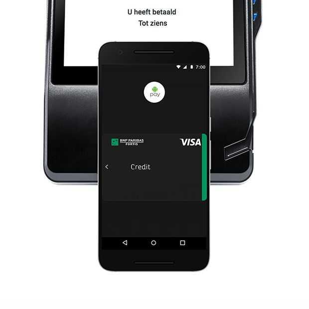 Android Pay vanaf vandaag beschikbaar in België