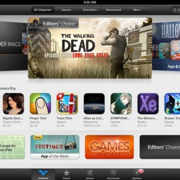 App Store van Apple overtreft 50 miljard downloads