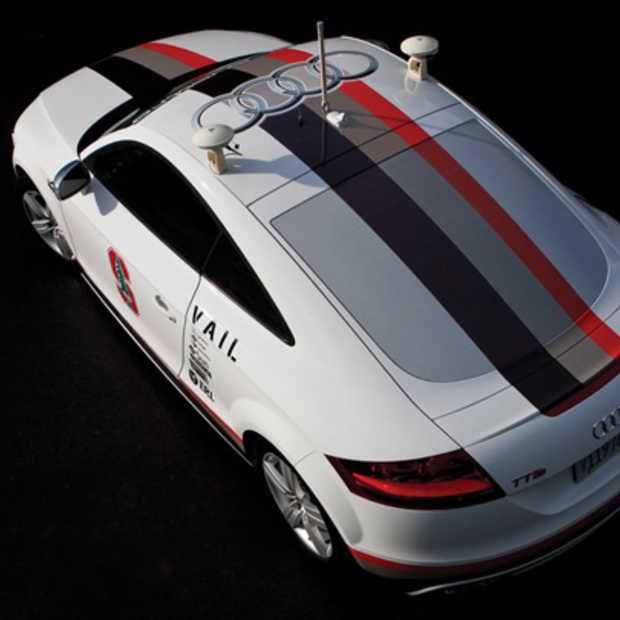 Audi gaat experimenteren met onbemande auto's op de openbare weg