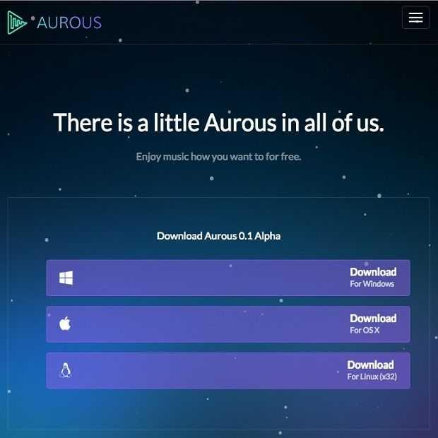 Aurous: Popcorn Time voor muziek