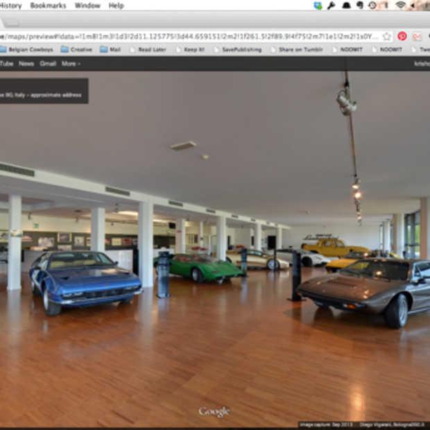 Bezoek het Lamborghini Museum dankzij Google Maps