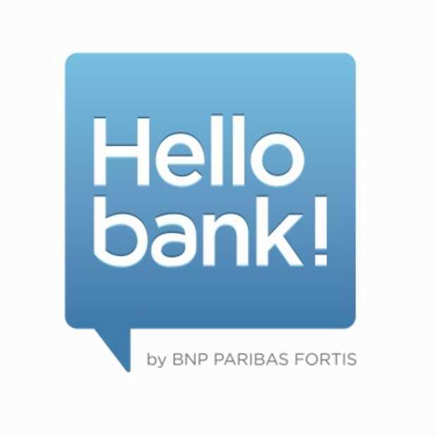 BNP Paribas Fortis lanceert Hello bank!: een 100 % mobiele en gratis bank