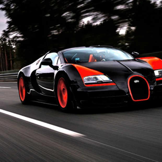 Bugatti Veyron Grand Sports Vitesse zet het snelheidsrecord op scherp