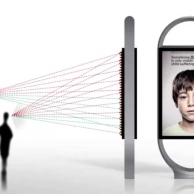 Campagne van Grey Spanje tegen kindermishandeling toont boodschap enkel aan kinderen