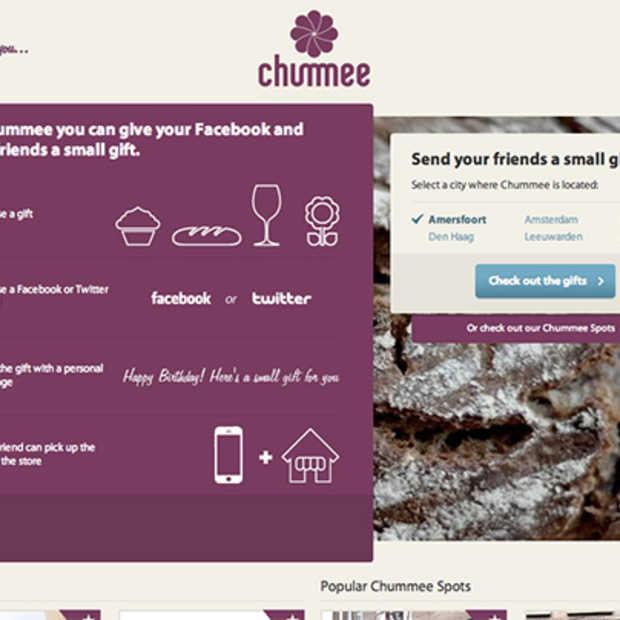Chummee.com wint met Social Gifting