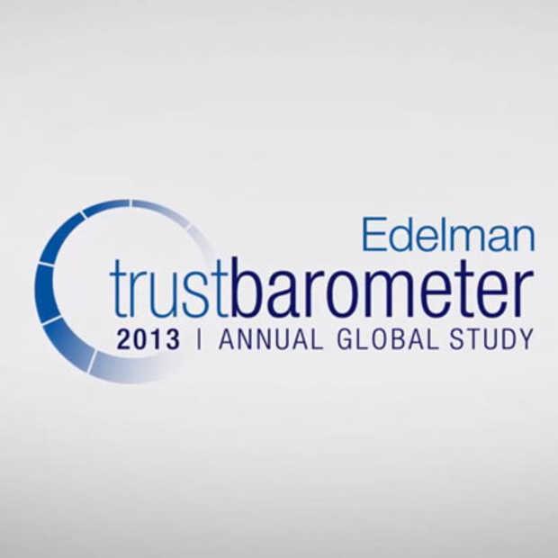 De 13de Edelman Trust Barometer is er