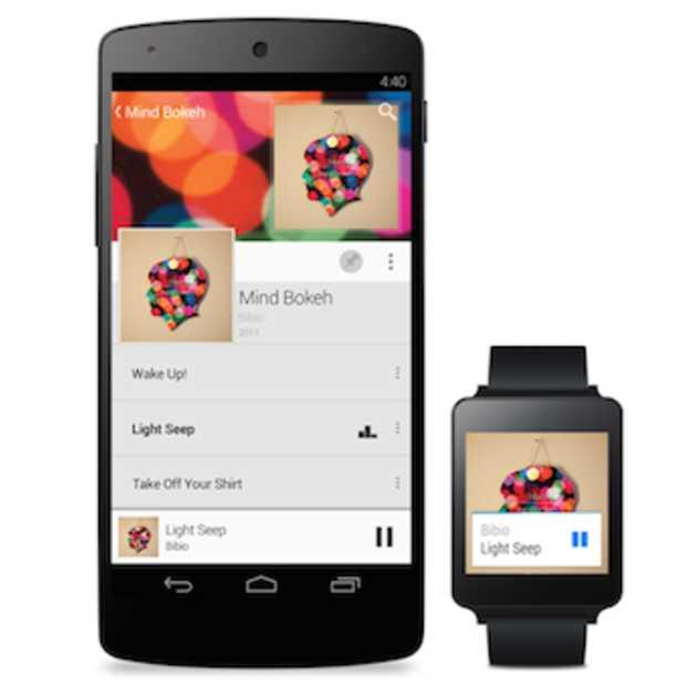 De eerste apps voor Android Wear