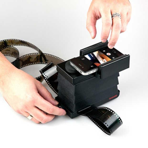 De Lomography Smartphone filmscanner
