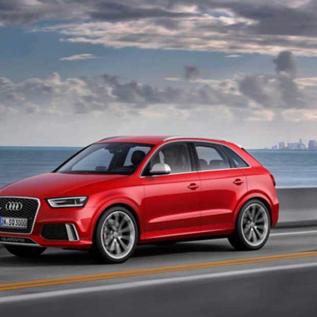 De nieuwe Audi RS Q3 in actie