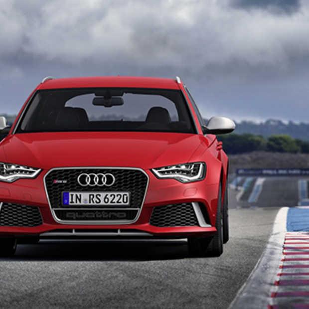 De nieuwe Audi RS6, nu met V8 twinturbo.