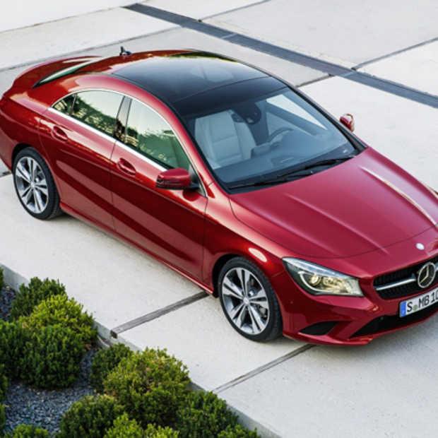 De nieuwe Mercedes CLA