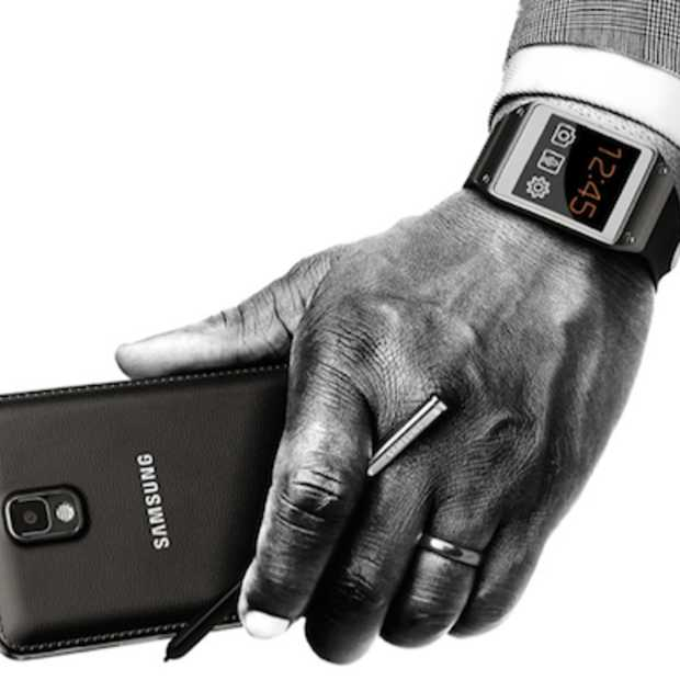 De nieuwe Samsung Galaxy Note 3 lijkt op een zakagenda