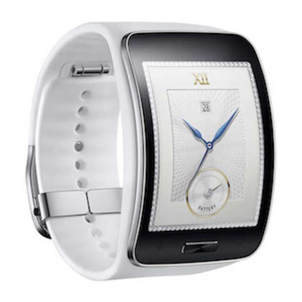 De nieuwe Samsung Gear S smartwatch heeft een groot gebogen scherm