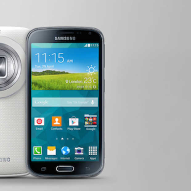 De Samsung Galaxy K zoom is smartphone en fototoestel [review]