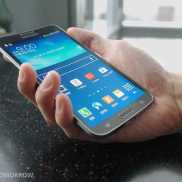 De Samsung Galaxy Round: de eerste telefoon met een gebogen display