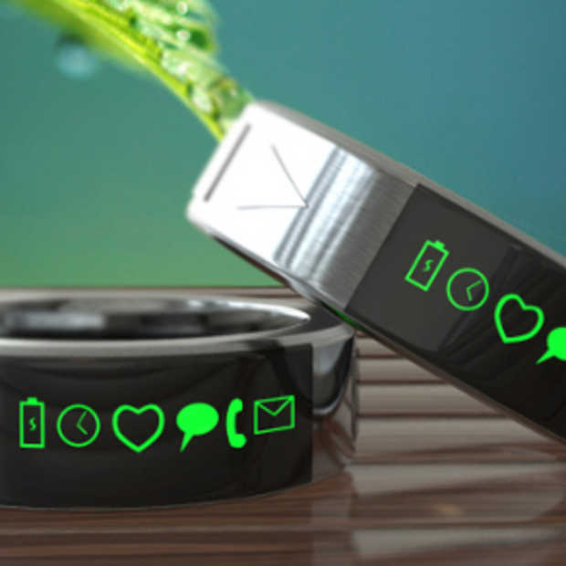 De Smarty Ring concurrentie voor de Smartwatch?