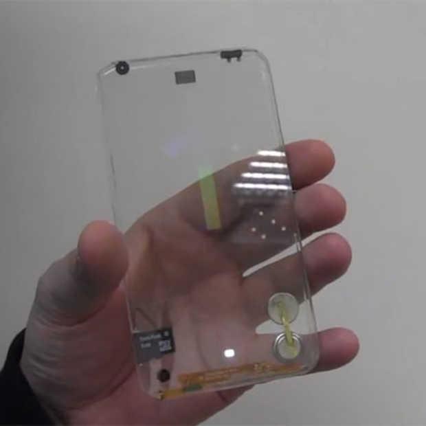 De transparante smartphone bestaat echt