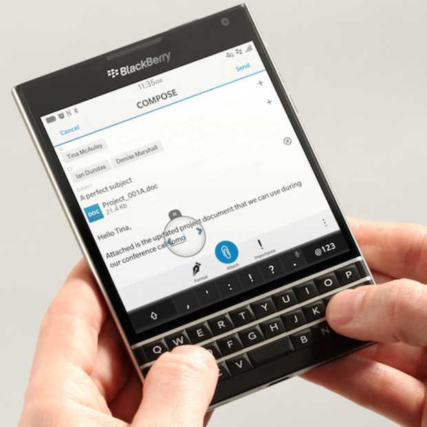 Eerste indrukken van de aangekondigde BlackBerry Passport