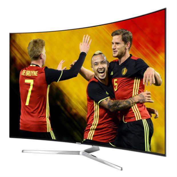 Televisie staat centraal in de beleving van het EK voetbal