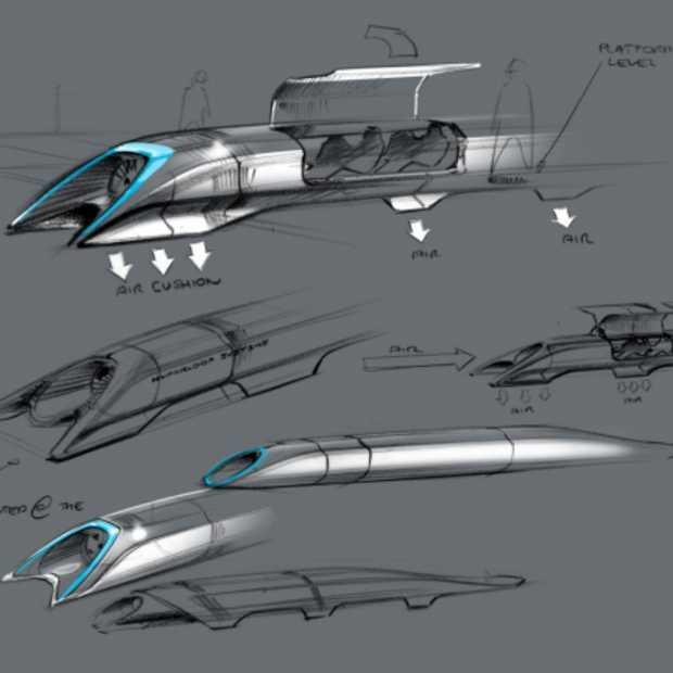 Elon Musk brengt plannen Hyperloop naar buiten